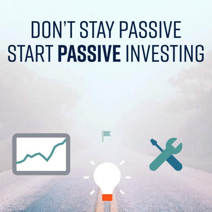 3-1. Don't Stay Passive, Start Passive Investing